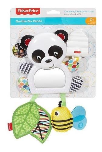 Móvil para bebe de coche oso panda de paseo fisher price