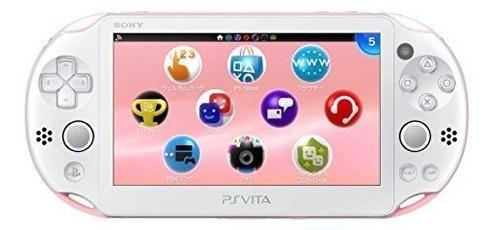 Playstation Vita Pch-2000 Za19 Wi-fi Light Pink-white [japan