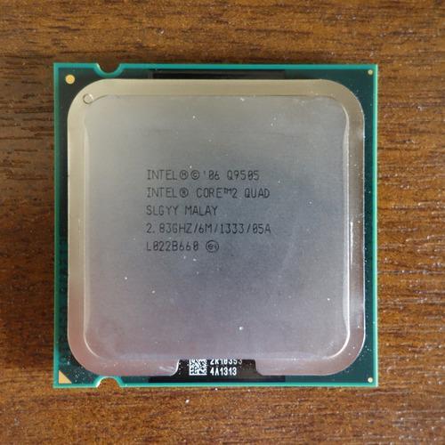 Procesador Intel Core 2 Quad Q9505 2.83 Ghz Lga 775 4