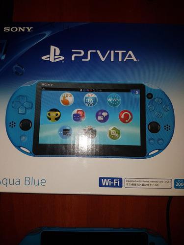 Ps Vita + 2 Juegos + Memoria Micro 4gb