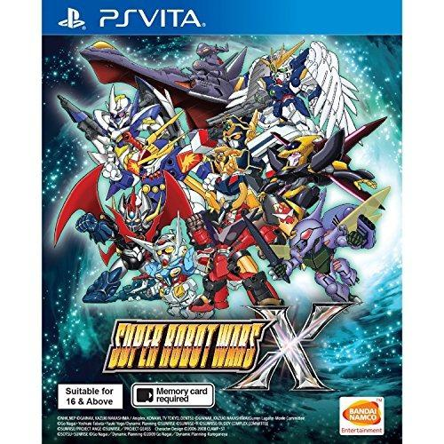 Ps Vita Super Robot Wars X (inglés) Para Playstation Vita