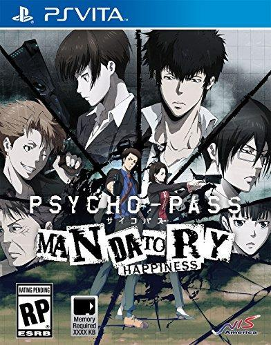 Psycho-pass: Felicidad Obligatoria - Playstation Vita