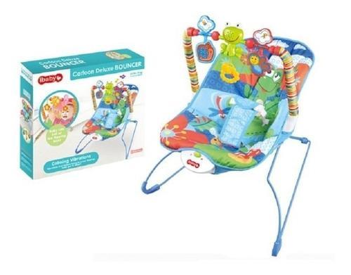 Silla mecedora con vibración para bebe juguetes marca ibaby