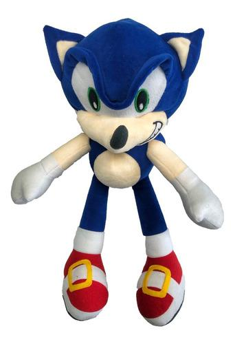 Sonic the hedgehog peluche niños 40cmx30cm juguete