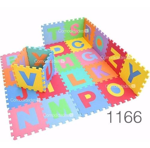 Tapete foamy 30 piezas fomi fomy bebes niño varios motivos