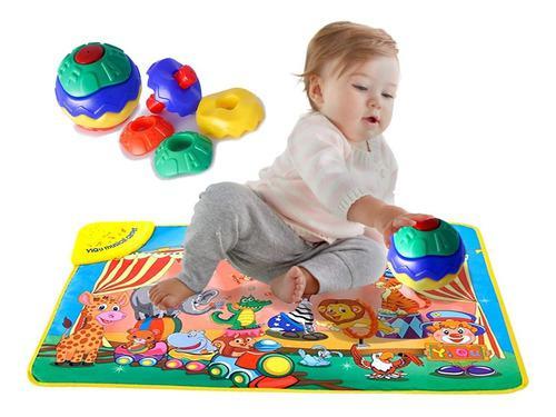 Tapete musical bebés juguete - u - unidad a $64900