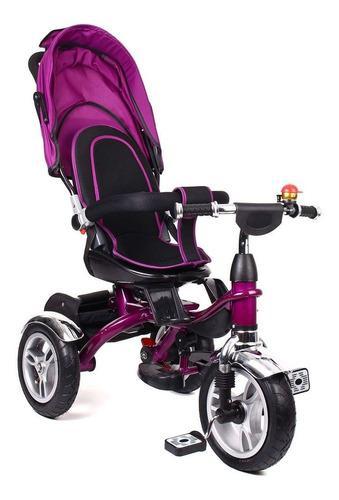 Triciclo bebe pedal niño niña juguete giro 360 paseador