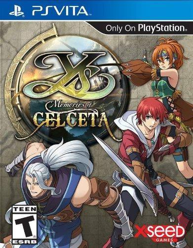 Ys: Recuerdos De Celceta - Playstation Vita