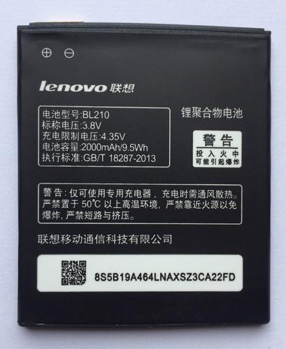 Batería Para Lenovo Bl210/ S820,s820e,a750e. Tipo Original