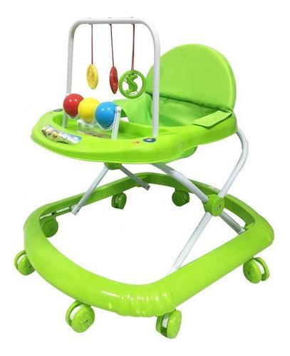 Caminador para bebe niña, llantas de silicona marca jumpy
