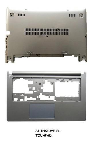 Carcasa Lenovo S400 S405 S410 Touchgris 100% Nuevo Original