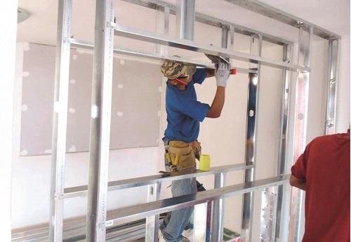 Instalacion - reparacion de drywall y pvc. incluye diseño
