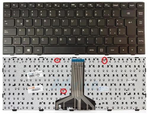Teclado Lenovo Ideapad 100-14ibd 100 14ibd Español Con
