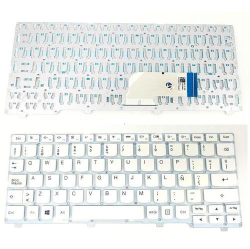 Teclado Lenovo Ideapad 100s-11iby Blanco Type: 80r2 Nuevo