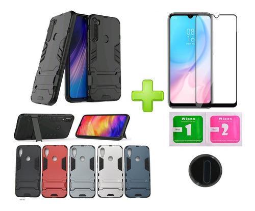 Estuches Xiaomi Antichoque Vidrio Templado Protector Camara