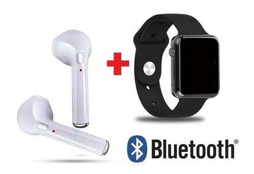 Reloj Inteligente Homologado + Audifonos Bluetooth I7 Combo