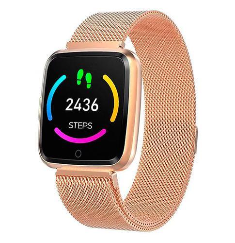 Reloj Inteligente Y7 Gold Ip67 Smartwatch