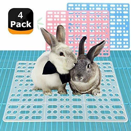 4 piezas esteras conejo hámster conejo jaulas cobaya otra
