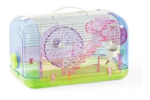 Jaula mansion hamster (incluye accesorios) + envío gratis