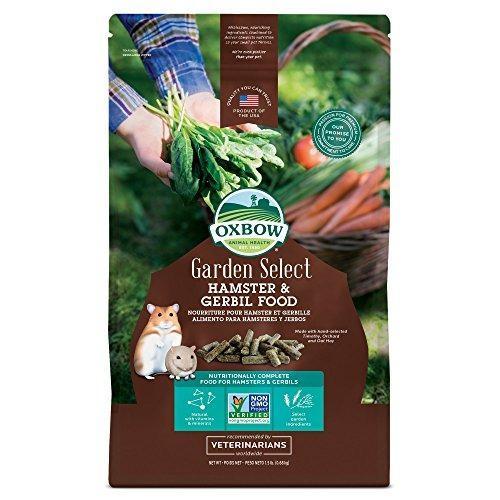 Oxbow Garden Select Alimento Enriquecido Para Hámsters Y Je