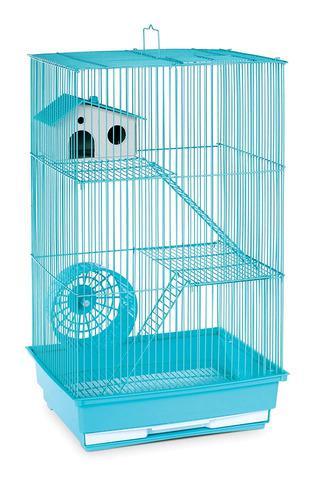 Prevue Pet Products Hamster De Tres Pisos / Jaula De G...