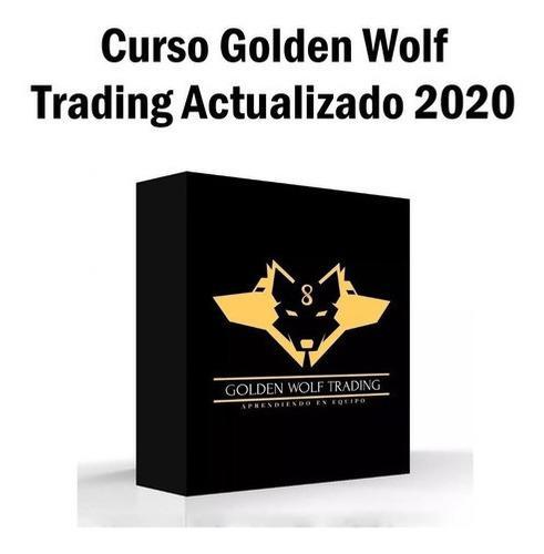 Curso golden wolf trading + seminarios + clases 2020 32gb