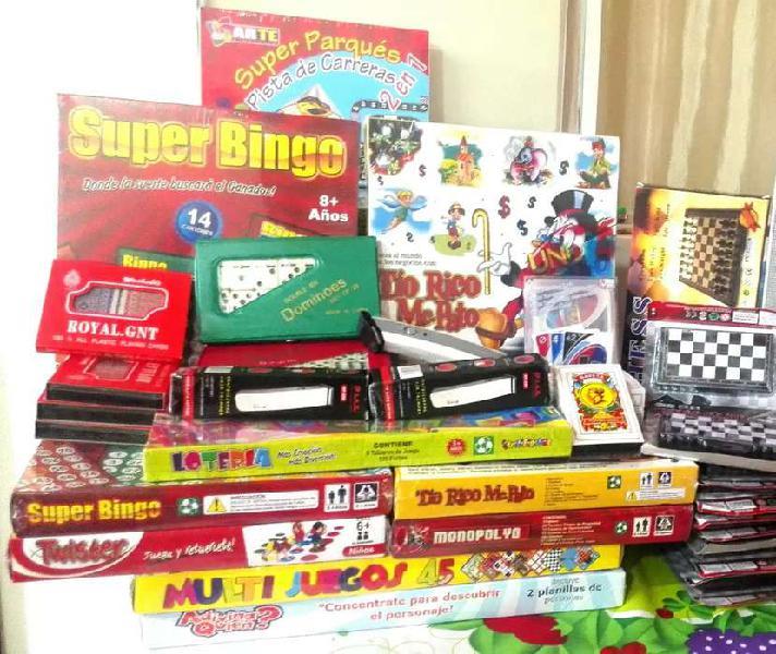Juegos de mesa de todo tipo, precio y calidad para toda la