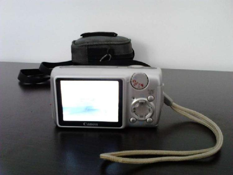 Vendo camara fotografica canon powershot a470