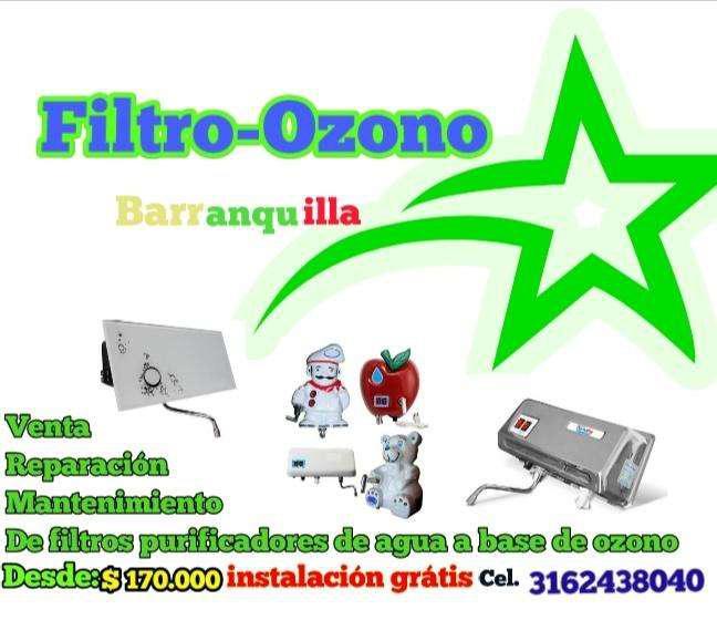 Venta filtros, mantenimiento de filtros purificadores de