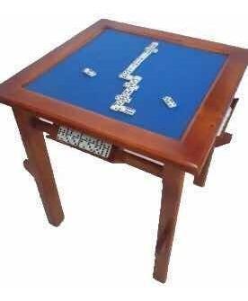 Mesa multiple de juegos domino - poker en madera