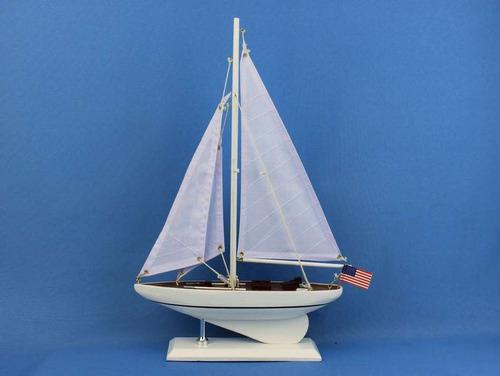 Modelo velero decoración madera intrépida decoración