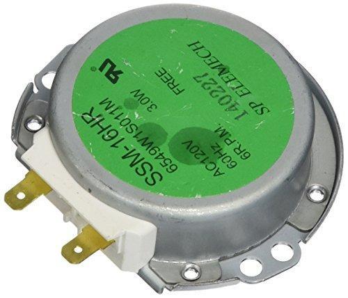 Motor de placa giratoria de microondas wb26x10154 eléctrico