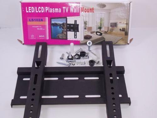 Soporte base pared tv monitores lcd resistente hasta 37 pulg
