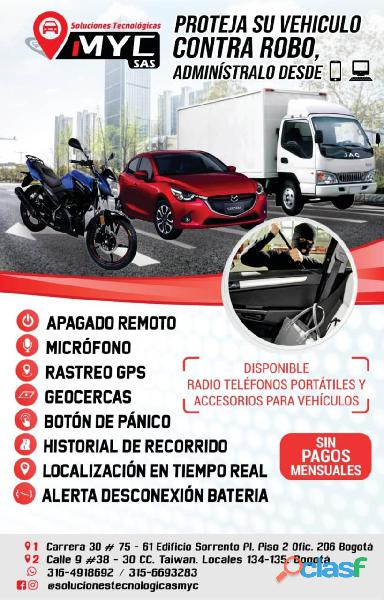 Rastreador gps tracker para vehiculos