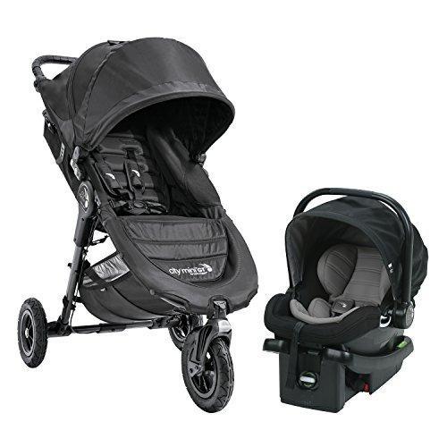 Baby jogger city mini black travel system coche silla carro