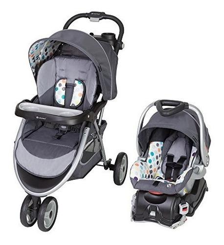 Baby trend skyview iones travel system coche + silla bebe