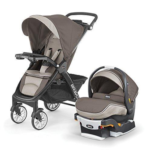 Chicco bravo le latte travel system coche + silla porta bebe