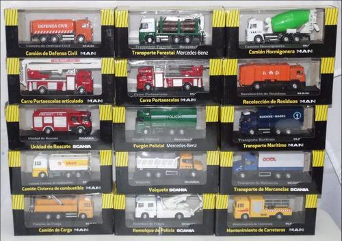 Colección grandes camiones el tiempo y motor