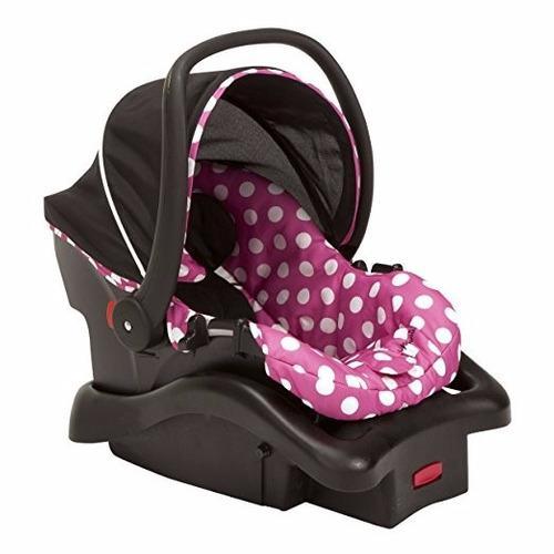 Disney minnie mouse dot comfy luxe silla carro porta bebe