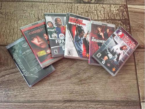Juegos, películas y música para psp todo a un precio.