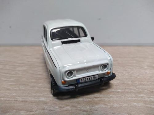 Renault 4 gtl los mas queridos escala 1/43 burago
