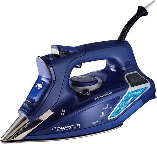 Rowenta dw9280 plancha a vapor acero inoxidable 1800w azul