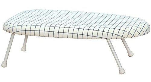 Tabla de planchar maniaca de mesa con patas plegables, tabla