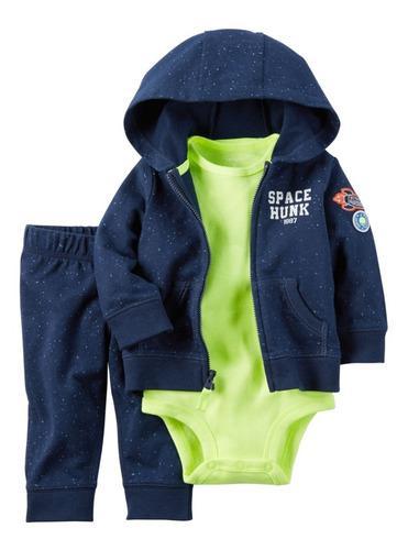 Conjuntos ropa carter's, 9 meses, sudadera, para bebe niño.