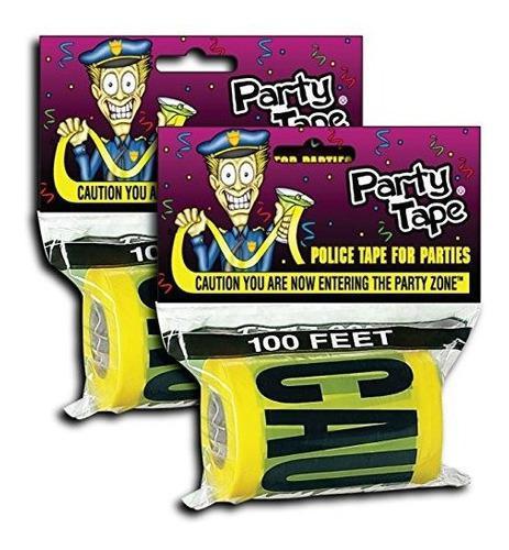 Paquete de 2 cintas para fiestas: advierta que ya ingresa a