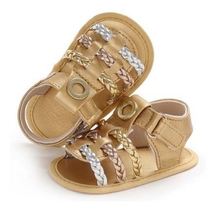 Zapatos sandalias bebe niña clanchas elegantes