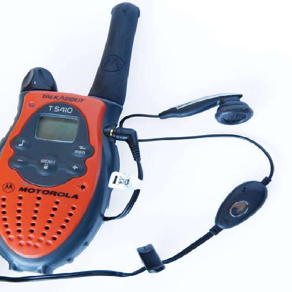 Manos libres audifono para radio talkabout 2.5mm motorola