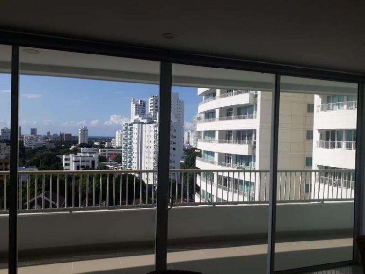Apartamento en arriendo en cartagena manga codabinu21303