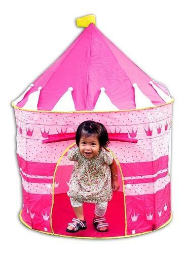 Castillo princesa carpa portable armable grande niñas bohio