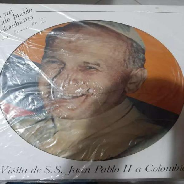 Lp audio visita del papá juan pablo segundo a colombia en